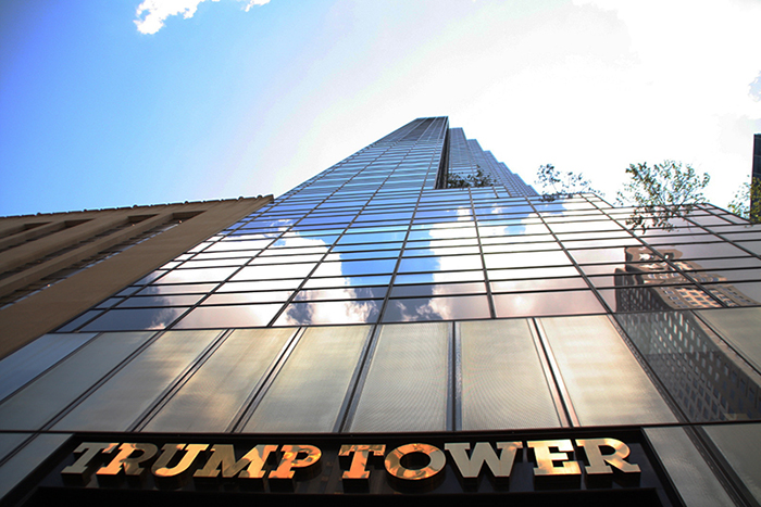 Heightened Security in Effect at Trump Tower