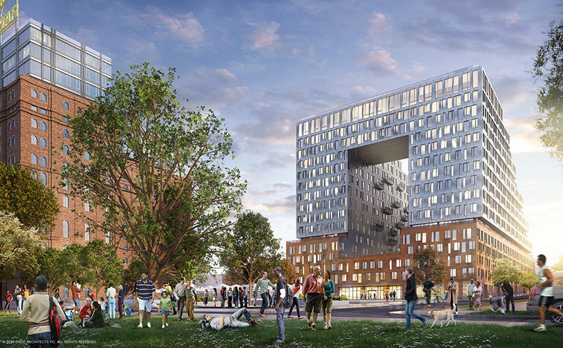 Lottery Opens for Domino Sugar Factory Apartments