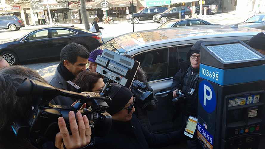 NYC Drivers Can Pay for Parking via Smartphone App