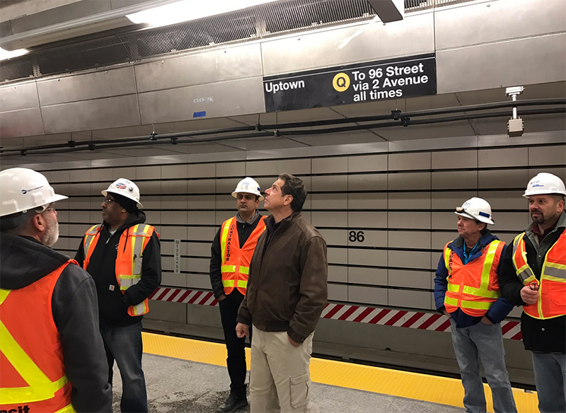 MTA Rushes to Meet Second Ave Subway Deadline