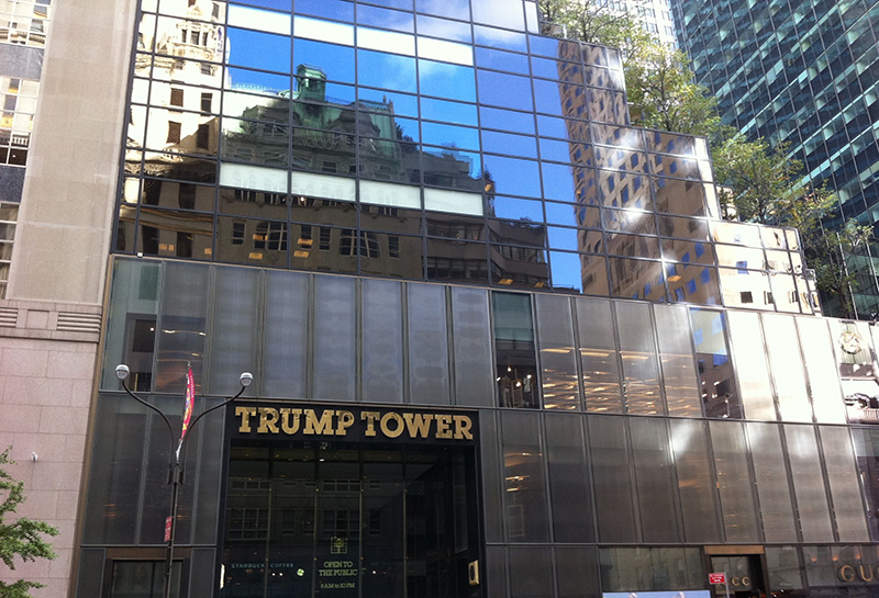 Trump Tower Evacuated After Reports of Suspicious Package
