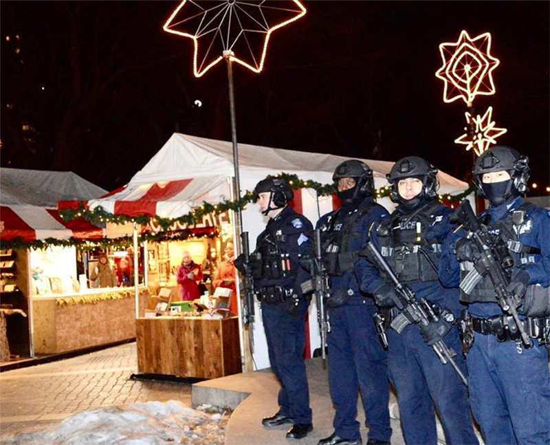 NYPD Increases Security After Berlin Attack