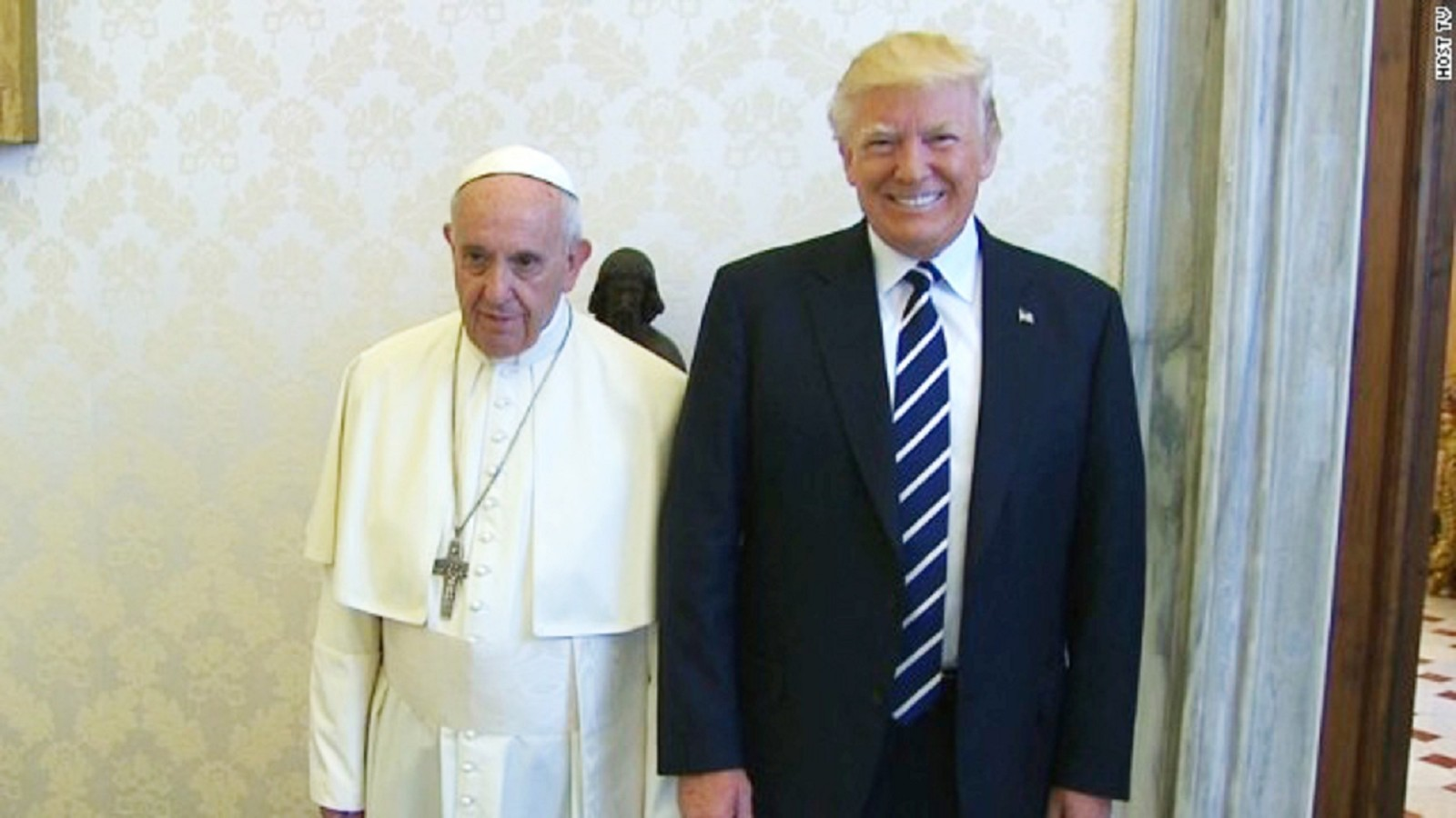 Pope and Trump Meet at the Vatican