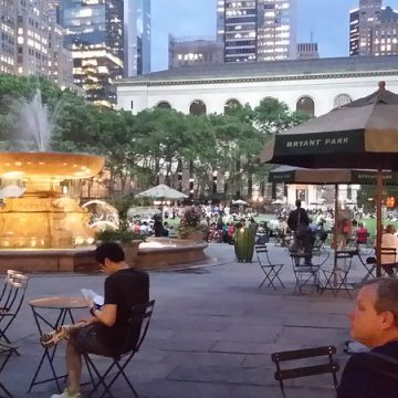 Outdoor Dining in New York Phase II Re-opens After Covid-19 Lock-down