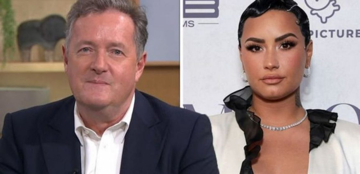 Piers Morgan Lashed out at Demi Lovato