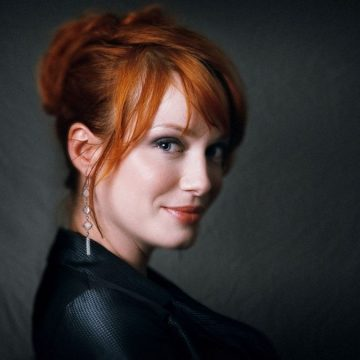 Christina Hendricks Explains Her Hand-Wound on The American Beauty Poster